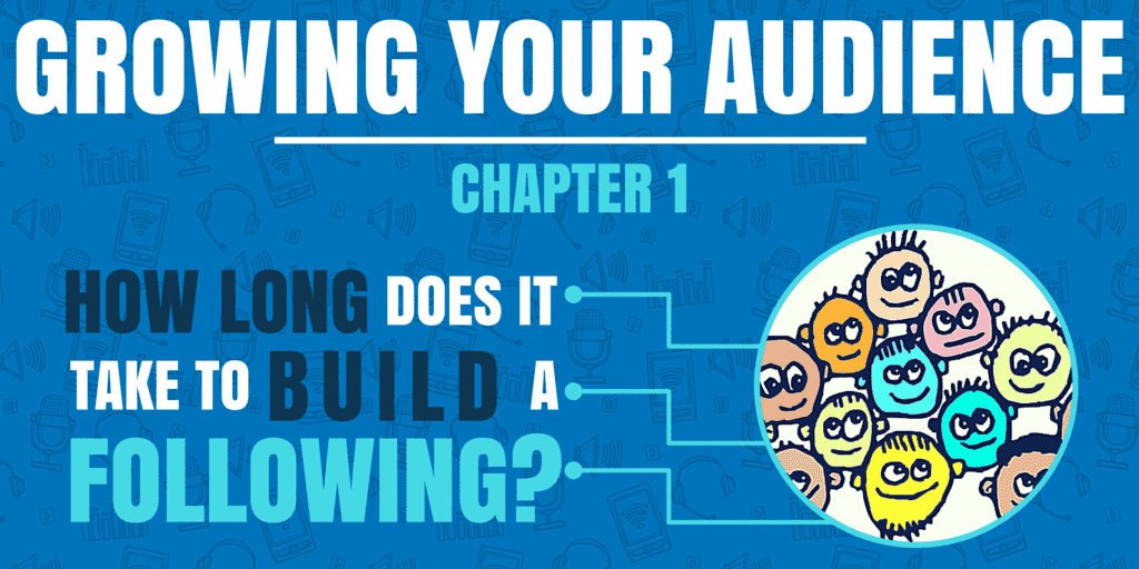 How Long Does it Take to Build a Following? | Growing Your Audience #1