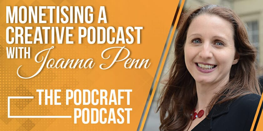 Audiobooks, Patreon & Sponsorship to Monetise a Creative Podcast